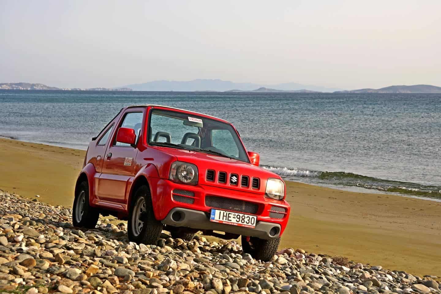 tinos beach 4x4 rental