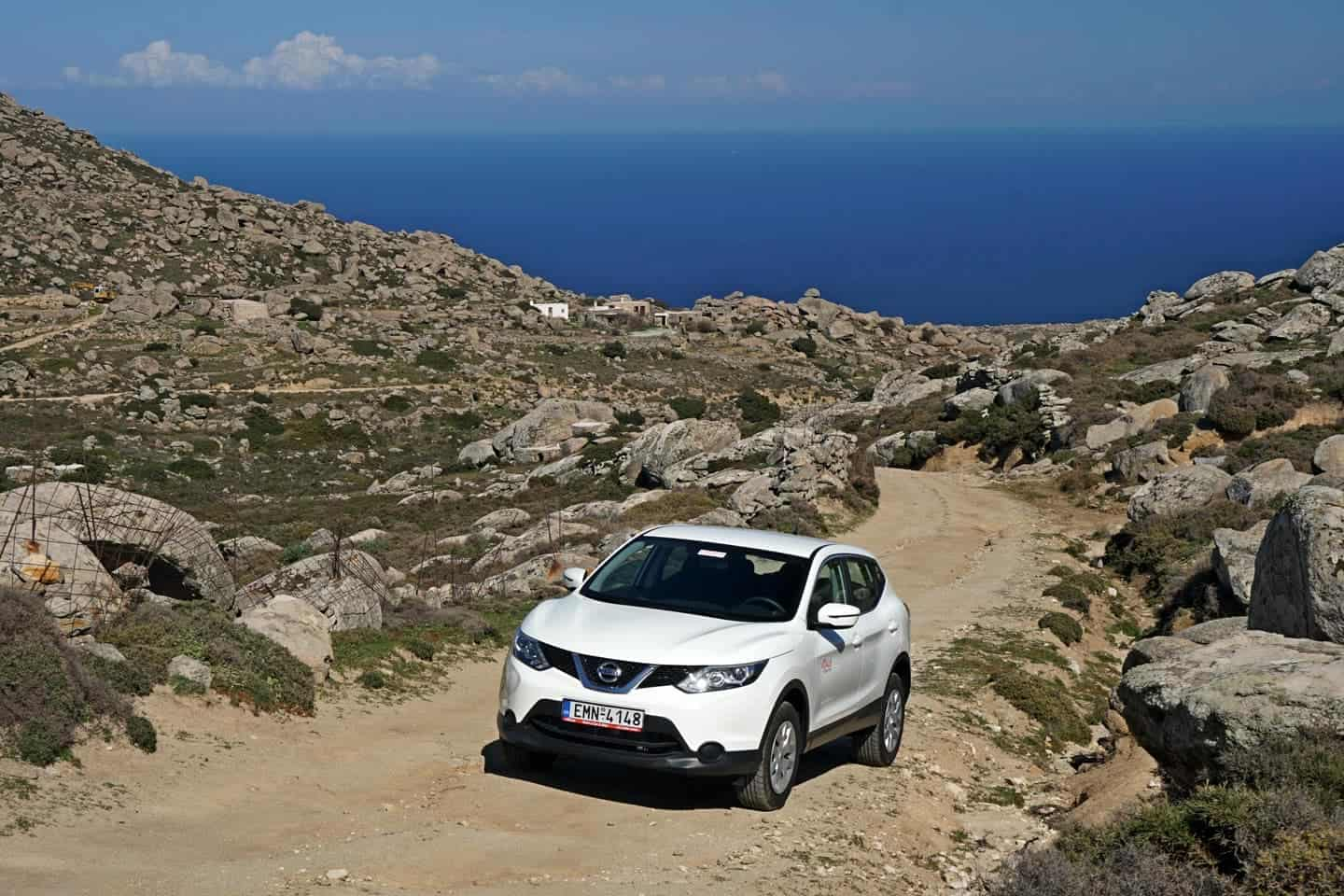 rent a car tinos vidalis