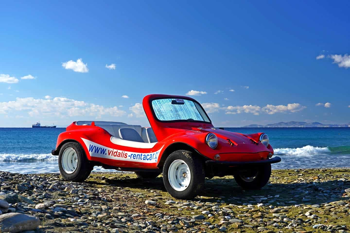 beach buggy vidalis rent a car tinos