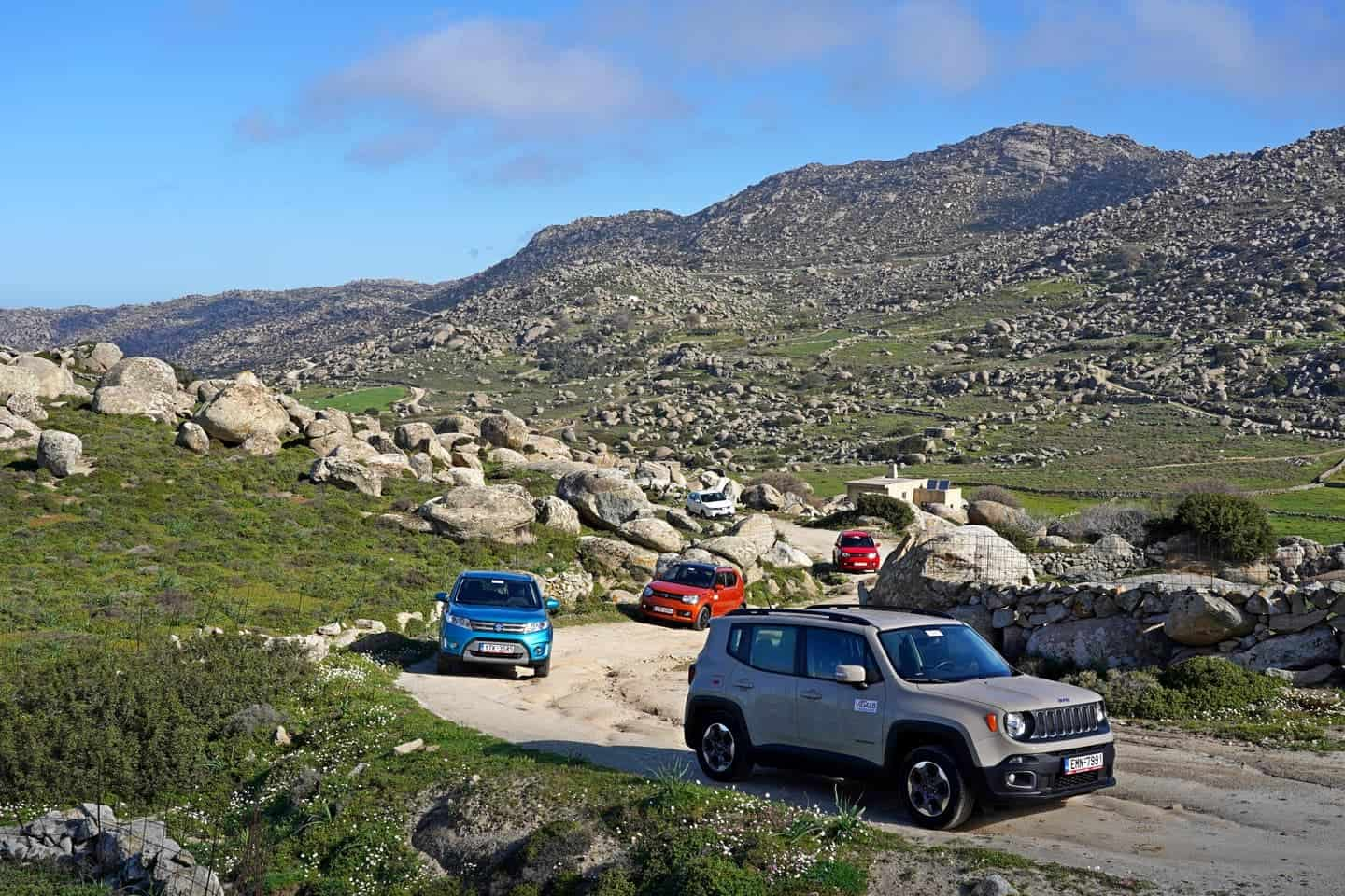 jeep tours at tinos island greece
