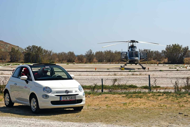 tinos heliport ελικοδρόμιο τήνου