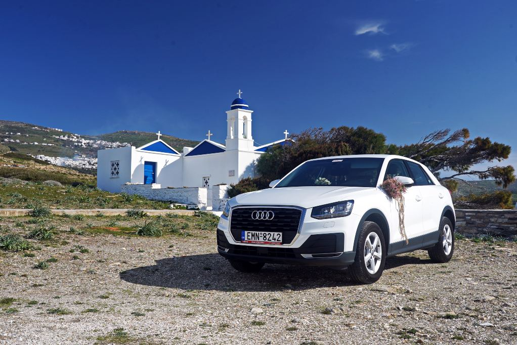 AUDI Q2 vidalis rent a car tinos