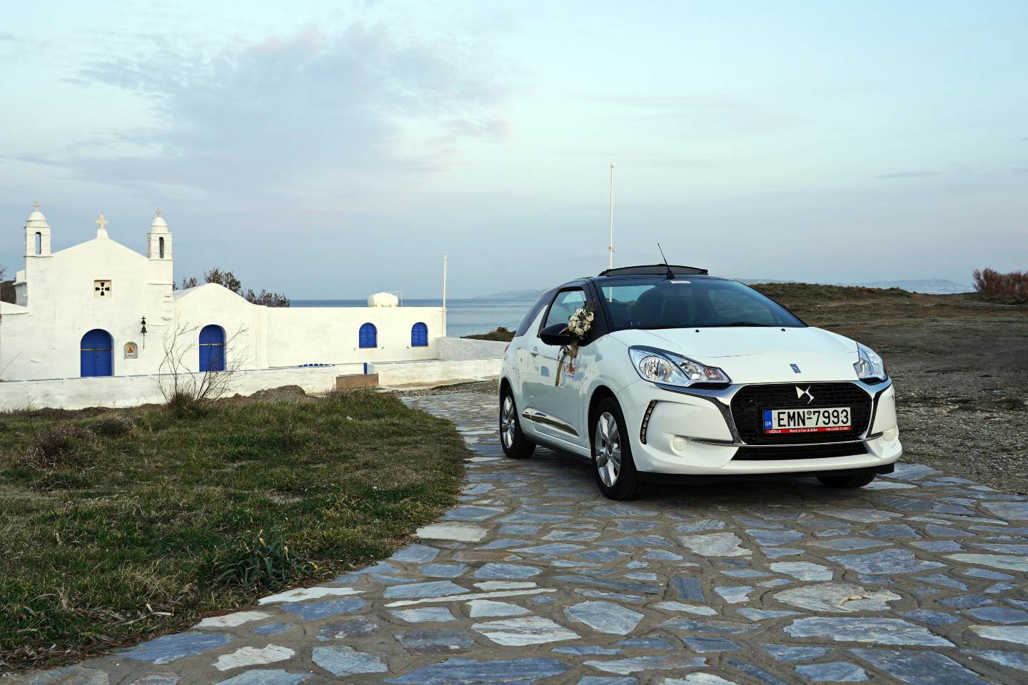 CITROEN DS 3 CABRIO vidalis rent a car tinos