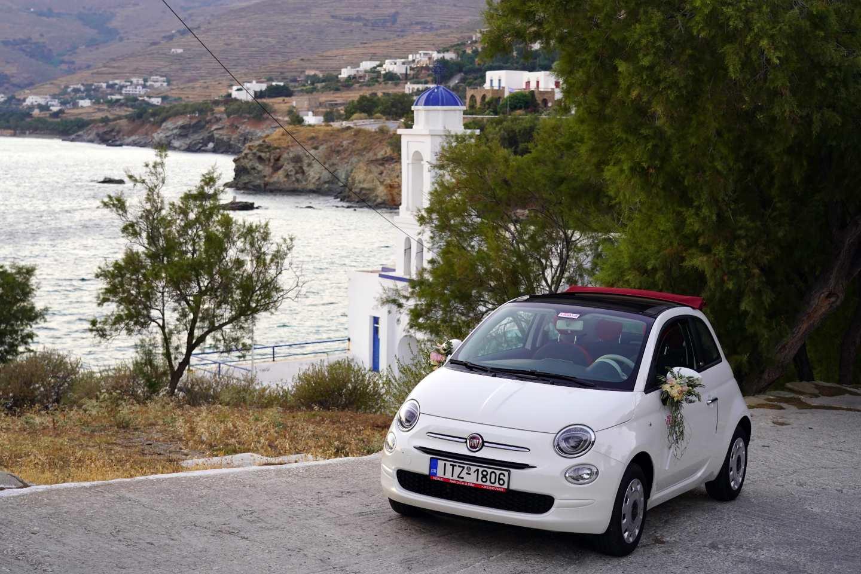 FIAT 500 CABRIO vidalis rent a car tinos