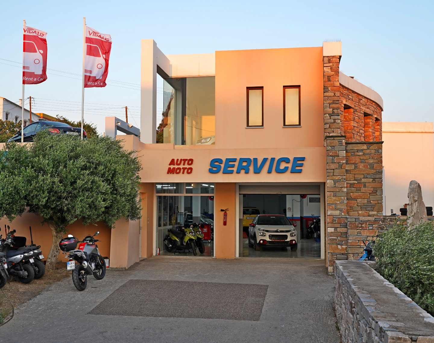 service vidalis rent a car tinos 4